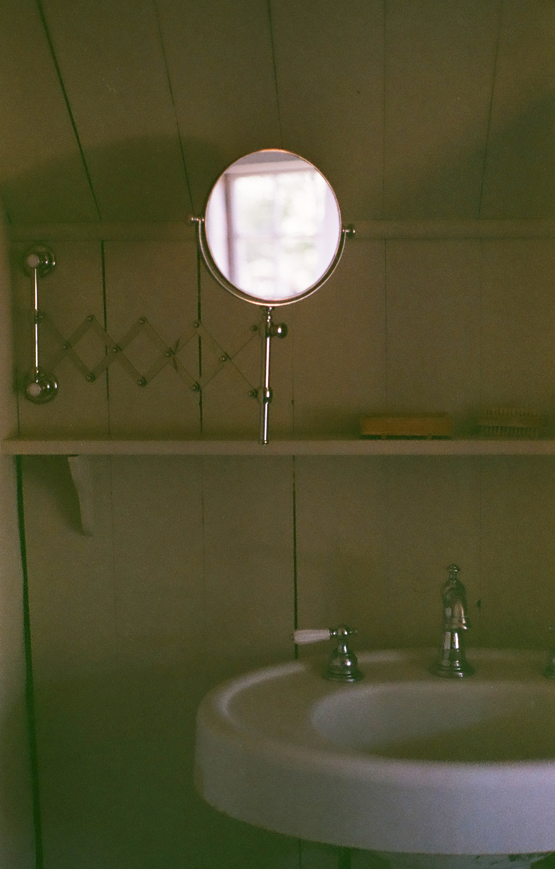 Film Photograph of Rustic Lodge in Strafford New Hampshire