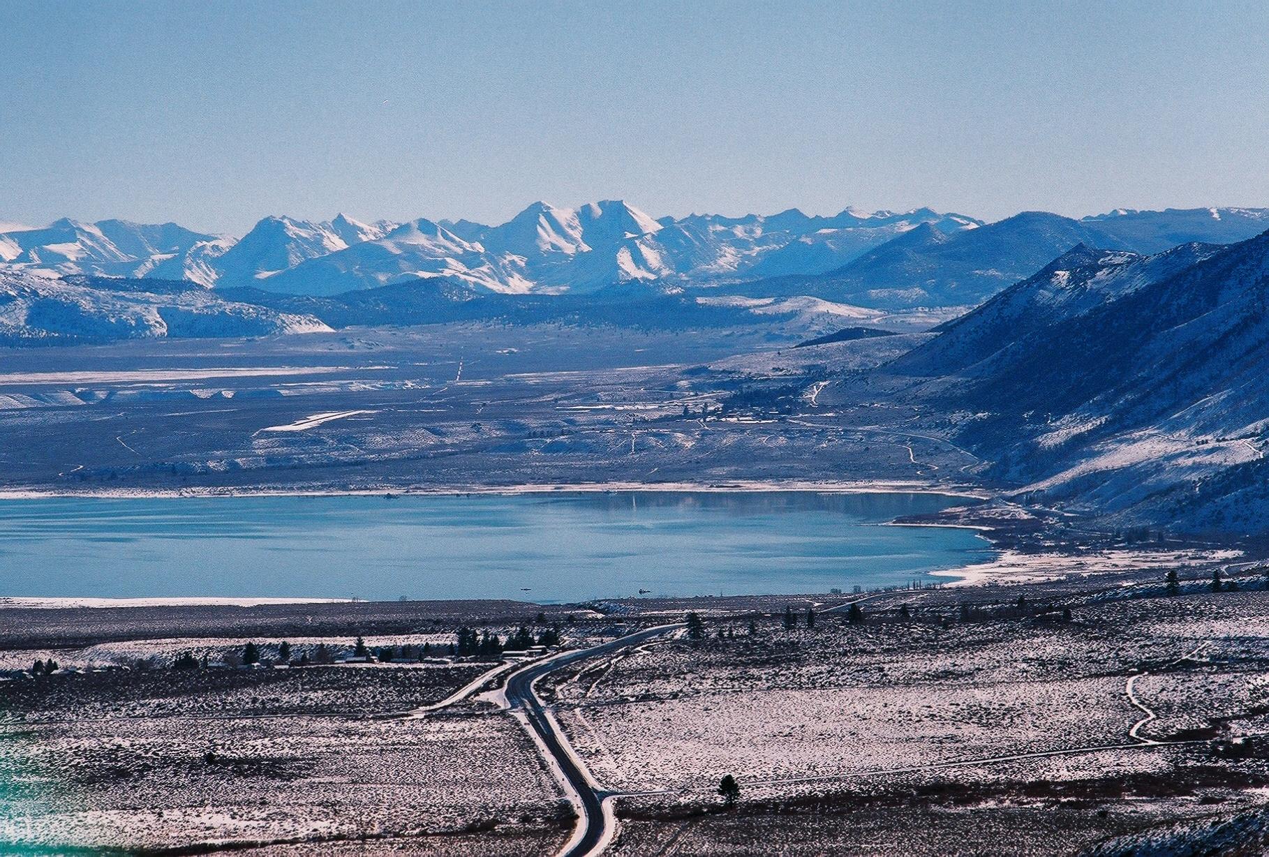 Film photograph of Mono Lake California