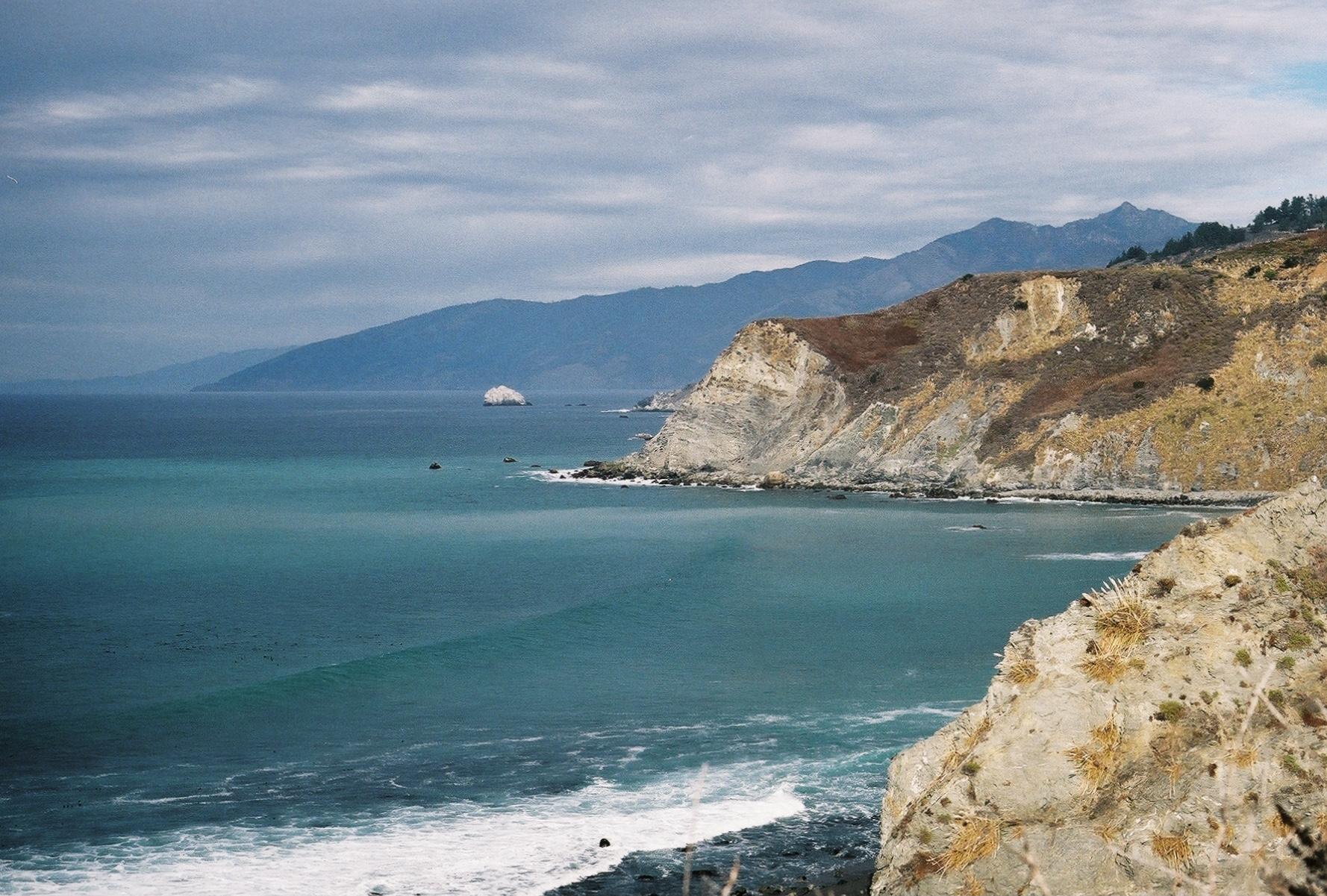 35mm film photograph of Big Sur California